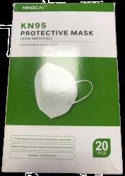 Boîte de 15 masques de protection KN95