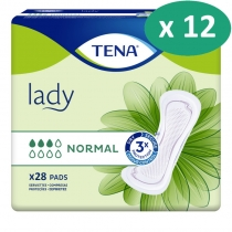 10 paquets de Tena Lady Normal
