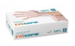 Boîte de 100 gants VINYLE Non poudrés Large 8-9