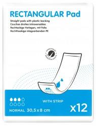 ID Rectangular Intraversable 30,5 x 8 + Strip - 12 protections
