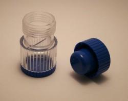 Broyeur-comprimé bleu