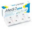 Pilulier semainier MEDI-7 Uno Blanc