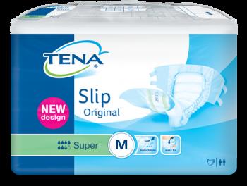 Tena Slip Super Plastique   Change complet avec attaches   Sen'Up
