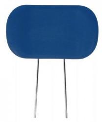 Appui-tête pour siège électrique Bellavita - Blanc / Bleu