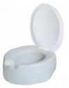 Rehausse-WC en mousse injectée avec couvercle - 11 cm de hauteur