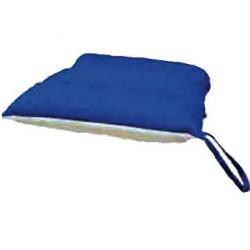 Coussin de siège en fibres siliconées 43 x 43 cm