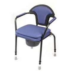 Chaise hygiénique fixe réglable en hauteur