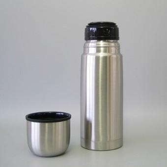 Bouteille isotherme en inox incassable avec bouchon à cliquet - 0.3 L| SenUp.com