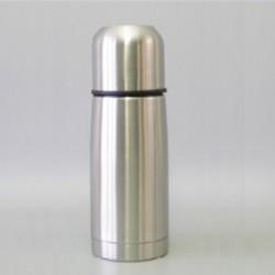 Bouteille isotherme en inox incassable avec bouchon à visser - 0.3 L