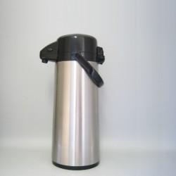 Pichet en inox incassable avec pompe - 2,5 L