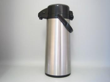 Pichet en inox avec pompe - incassable - 2.5 L