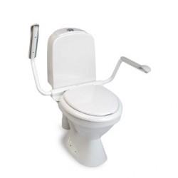 Lunette de toilette avec accoudoirs - Supporter II