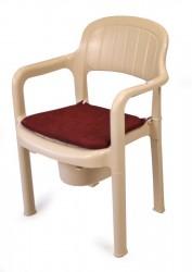Chaise hygiénique - Plastique solide