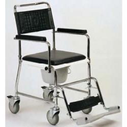 Chaise percée HCDA chromée