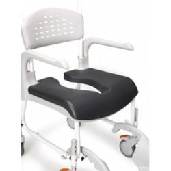 Assise ouverte Comfort pour chaise roulante de douche Clean