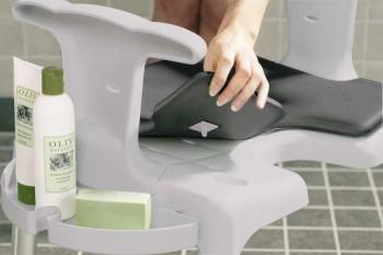 Porte-savon pour tabouret et chaise de douche Swift