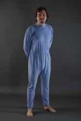 Pyjama standard bleu (coton 130g)