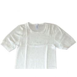 Chemise blanche pour hommes à manches courtes Peters - Small