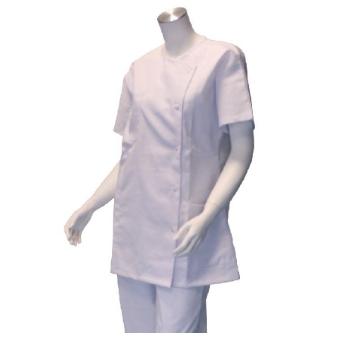 Veste d'infirmière pour femmes - Blanche  SenUp.com