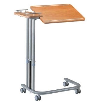 Table de lit réglable et inclinable avec tablette latérale fixe Type A 300  SenUp.com
