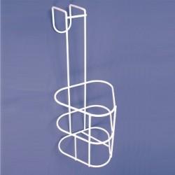 Porte-urinal en métal chromé pour l'urinal hommes avec poignée et bouchon