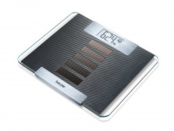 Pèse-personne solaire en verre - Beurer GS 50 Solar Scale
