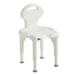 Chaise de douche INVACARE® I-Fit  -  Réglable en hauteur au cm près