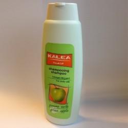 Shampoing doux, senteur pomme verte