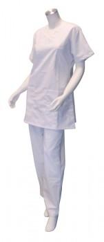 Pantalon mixte - Blanc