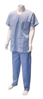 Pantalon mixtev- Bleu