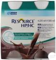 Nestlé Resource® HP/HC - Pack de 4 x 200 ml - Chocolat