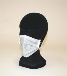 100 masques jetables en papier 1 pli