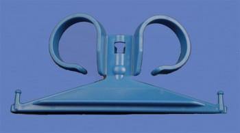 Support en plastique pour sac à urine