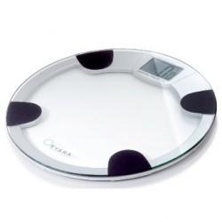 Pèse-personne digital KYARA - rond, en verre