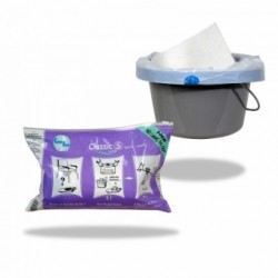 Sachet de 20 sacs hygiéniques CLASSIC pour bassin de lit
