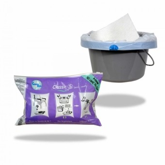 Sachet de 20 sacs hygiéniques CLASSIC pour bassin de lit| SenUp.com