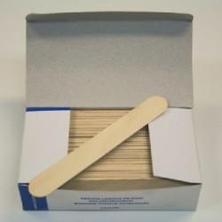 Boîte de 100 abaisse-langue en bois