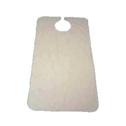 Sachet de 3 bavoirs imperméables pour adultes -  45 x 90 cm