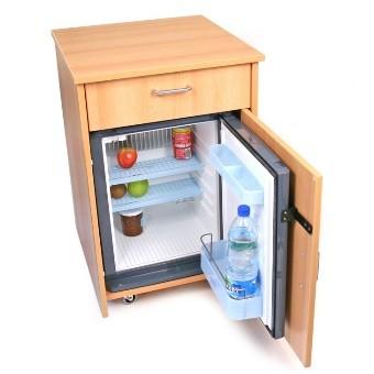 table de nuit avec frigo encastr disponible sur. Black Bedroom Furniture Sets. Home Design Ideas