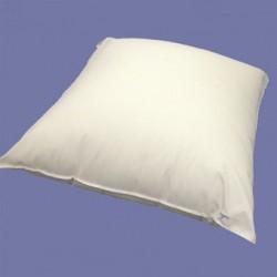 Housse d'oreiller en polyuréthane et coton - Anti-acariens et anallergique
