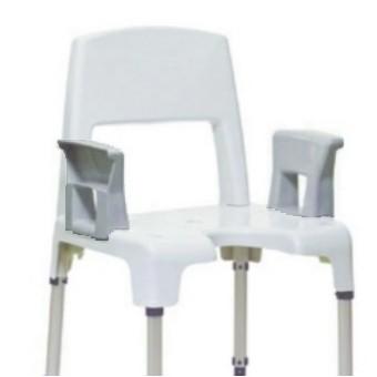accoudoirs pour invacare aquatec pico disponible sur. Black Bedroom Furniture Sets. Home Design Ideas