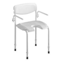 Chaise de douche Invacare® Alizé - En acier haute qualité