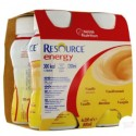 Nestlé Resource® Energy - Pack de 4 x 200 ml - Vanille