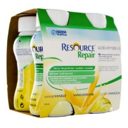 Nestlé Resource® REPAIR - 4 x 200 ml - Vanille