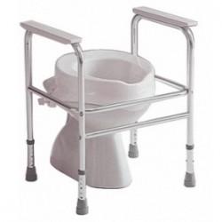 Cadre de toilette en aluminium INVACARE® Adeo