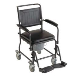 Chaise hygiénique sur roues INVACARE® Cascata - Finition confort