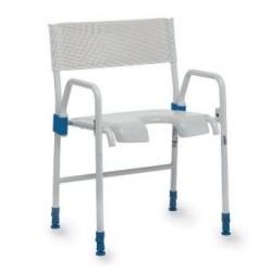 Chaise de douche Invacare® Galaxy - Pliable & en acier haute qualité