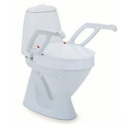 Rehausse-WC INVACARE® Aquatec® AT90000 - Sans accoudoirs