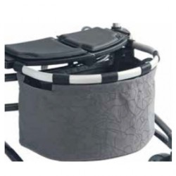 Grand panier DeLuxe pour rollator pliable et ultra-léger Invacare® DOLOMITE Jazz