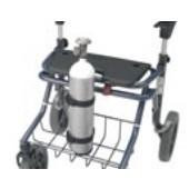 Porte-bouteille d'oxygène pour rollator Invacare® DOLOMITE Legacy & Alpha Basic